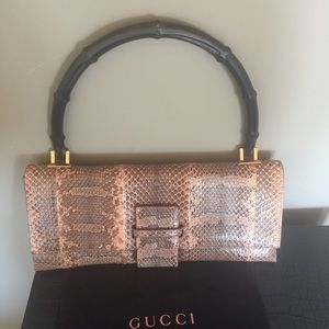 NEW GUCCI ICONIC BAMBOO HANDLE BAG